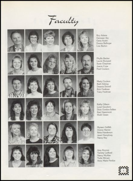 1996 Wellston High School Yearbook Page 9