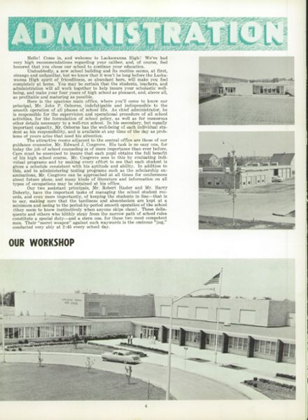 1960 Lackawanna High School Yearbook Page 8