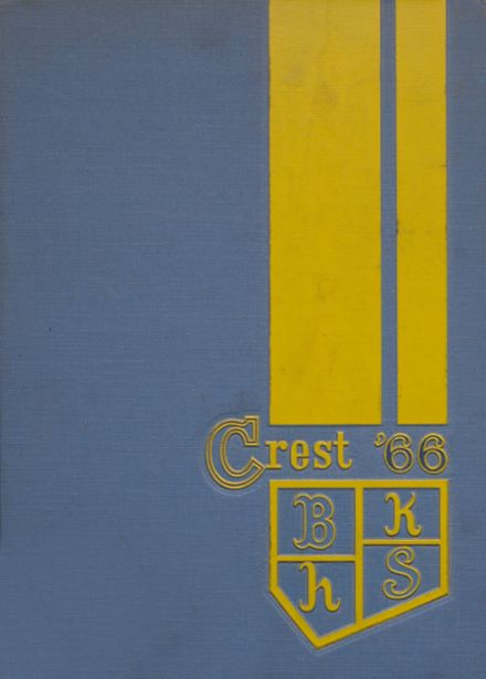 1966 Bishop Kelley High School Yearbook Cover