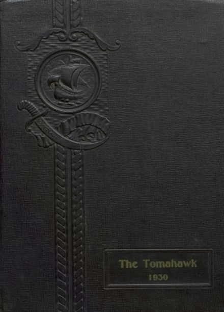 1930 Tecumseh High School Yearbook Cover