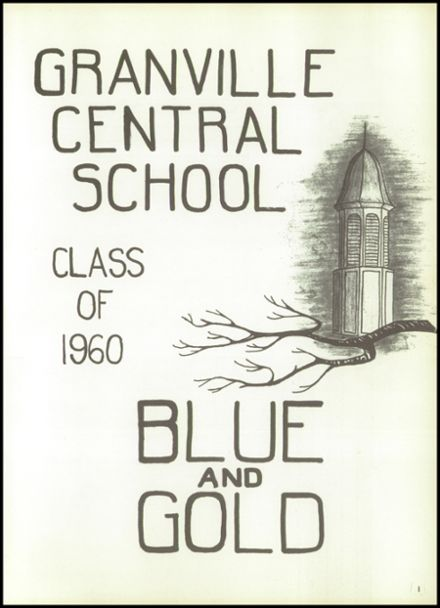 1960 Granville High School Yearbook Page 5