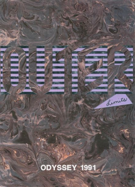 1991 Caddo Parish Magnet High School Yearbook Cover