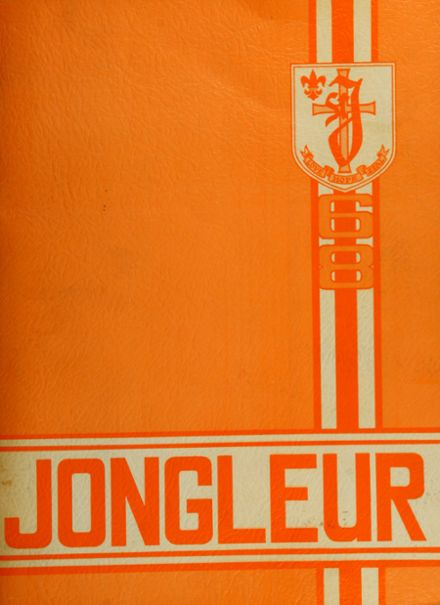 1968 St. Joseph High School Yearbook Cover