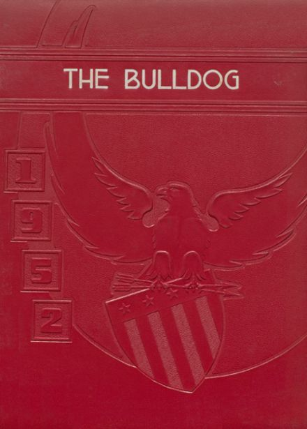 1952 Clayton High School Yearbook Cover