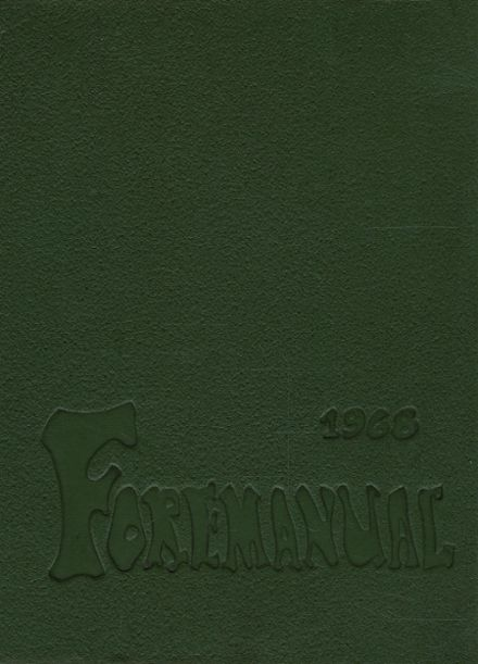 1968 Foreman High School Yearbook Cover