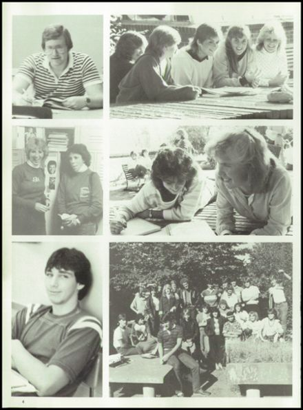 1985 Tolland High School Yearbook Page 8