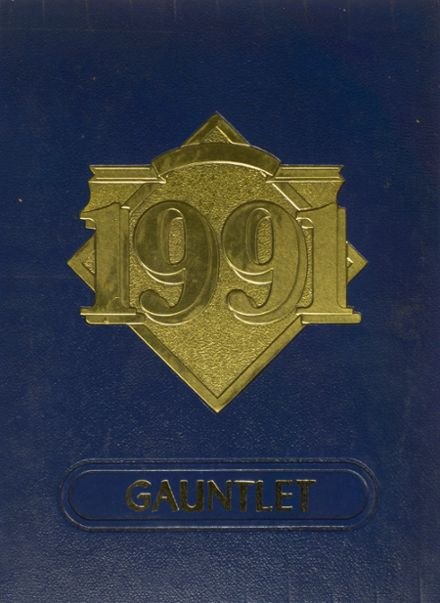 1991 Channelview High School Yearbook Cover