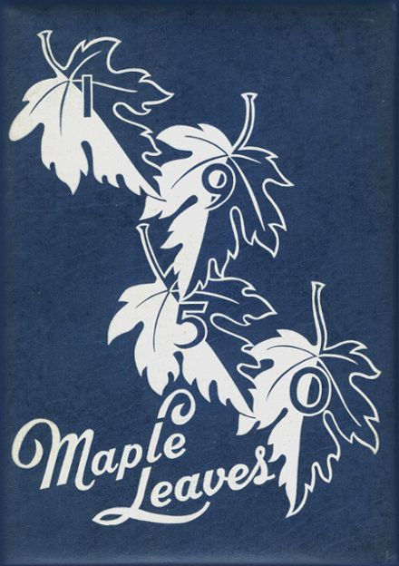 1950 Maplewood-Richmond Heights High School Yearbook Cover