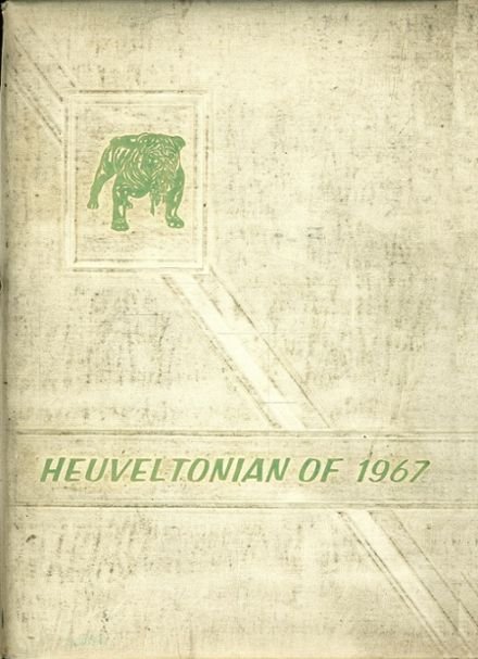 1967 Heuvelton Central High School Yearbook Cover