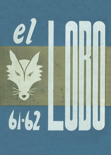 1962 Basic High School Yearbook Cover