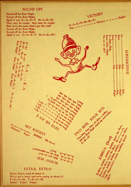 1958 East High School Yearbook Page 2
