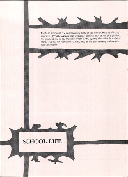 1958 East High School Yearbook Page 8