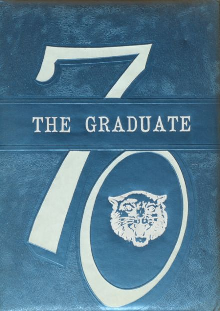 1970 Blanchester High School Yearbook Cover