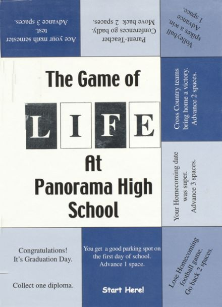 2001 Panorama High School Yearbook Cover