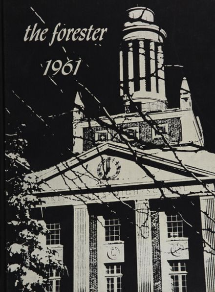 1961 Forest Hills High School Yearbook Cover