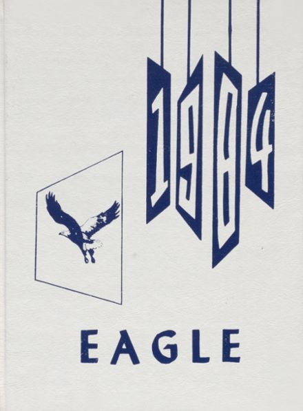 1984 Achille High School Yearbook Cover