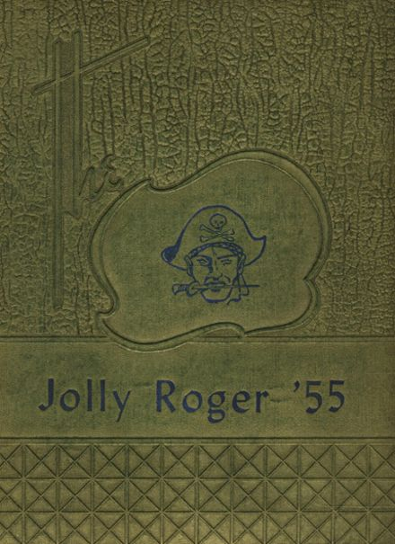 1955 Quitman County High School Yearbook Cover