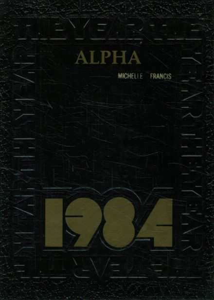 1984 Southern Columbia Area High School Yearbook Cover