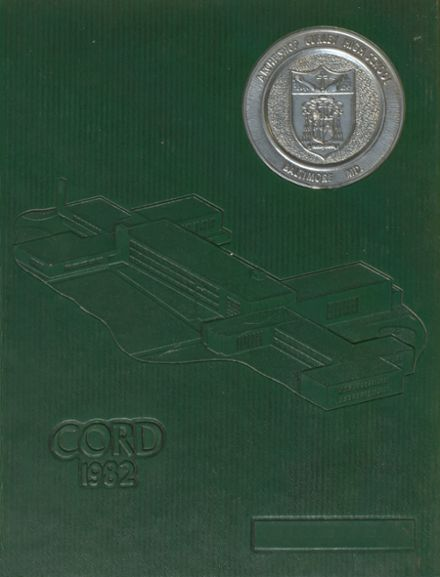 1982 Archbishop Curley High School Yearbook Cover