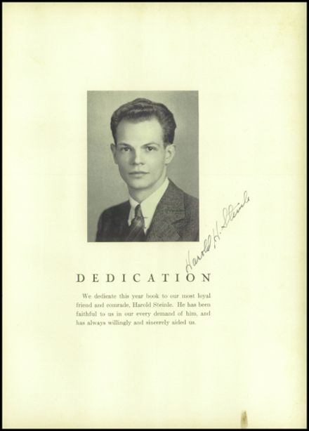 1935 South Kingstown High School Yearbook Page 9