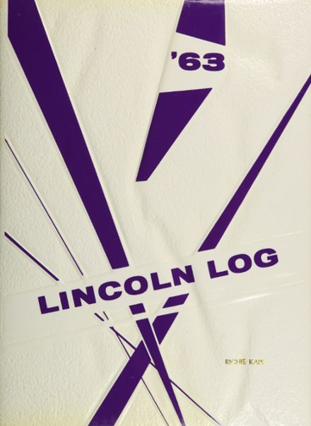 1963 Lincoln High School Yearbook Cover
