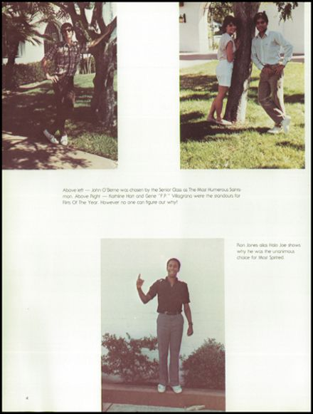1984 St. Augustine High School Yearbook Page 8