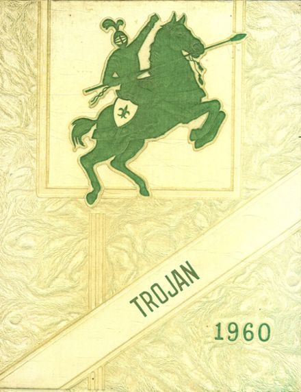 1960 East Troy High School Yearbook Cover