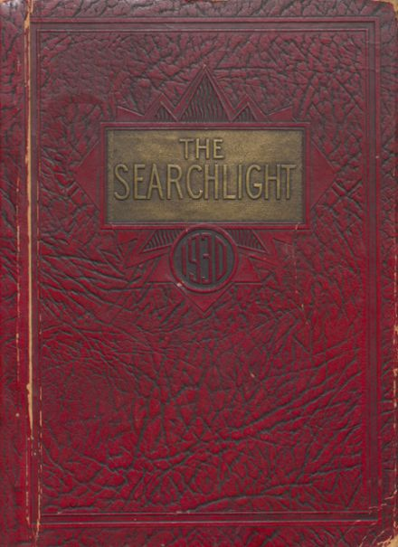 1930 Minot High School Yearbook Cover