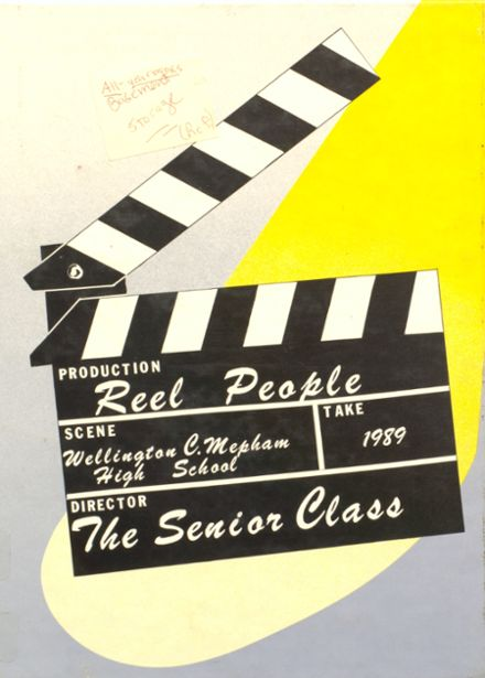 1989 Mepham High School Yearbook Cover
