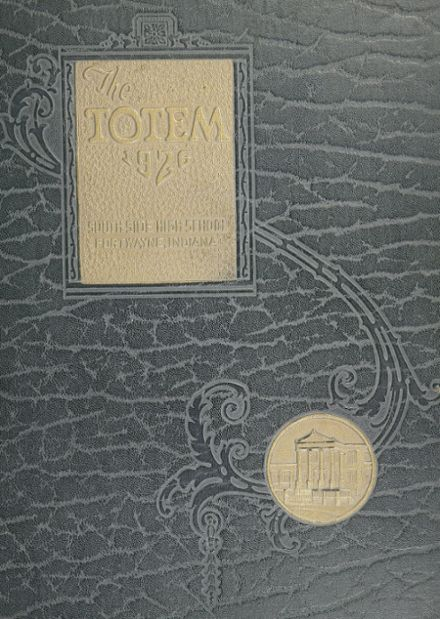 1926 South Side High School Yearbook Cover