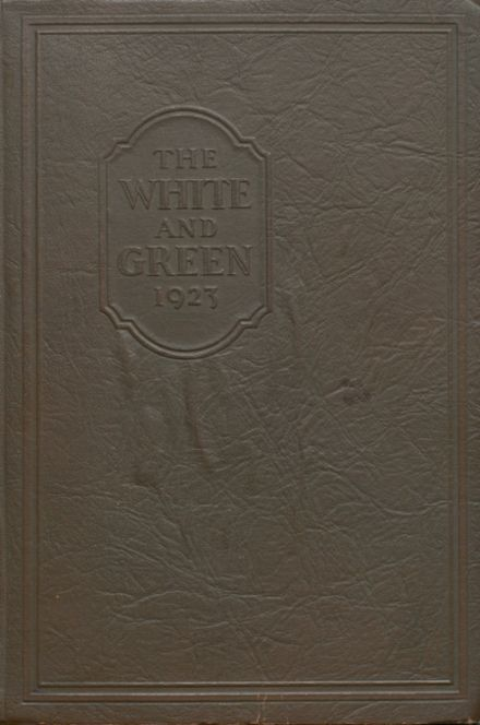 1923 Provo High School Yearbook Cover