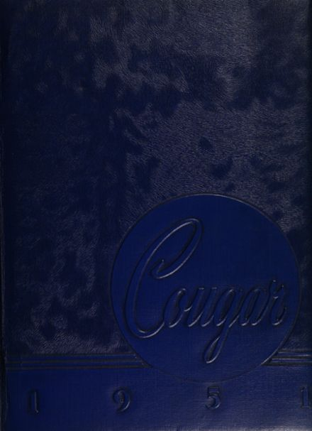 1951 Caldwell High School Yearbook Cover
