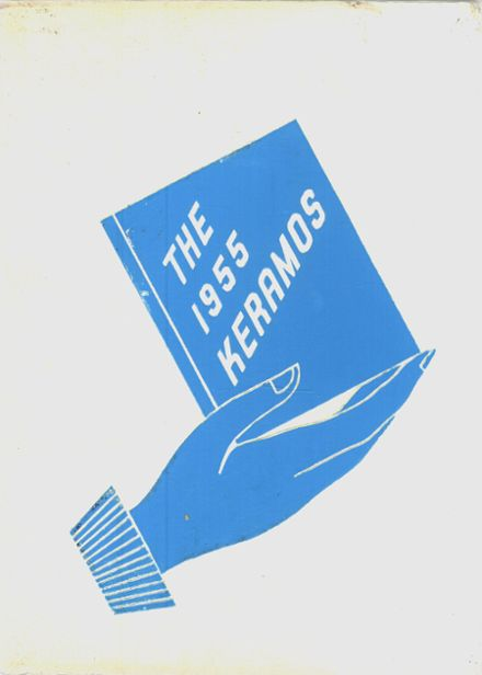 1955 East Liverpool High School Yearbook Cover