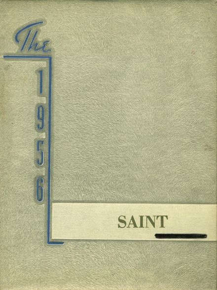 1956 St. Thomas High School Yearbook Cover