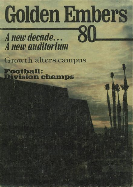 1980 Chaparral High School Yearbook Cover