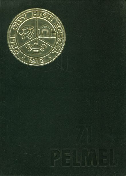 1971 Pell City High School Yearbook Cover