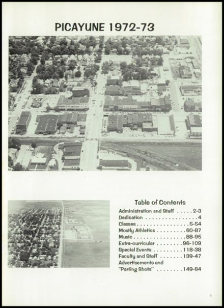 1973 Hoopeston Area High School Yearbook Page 5