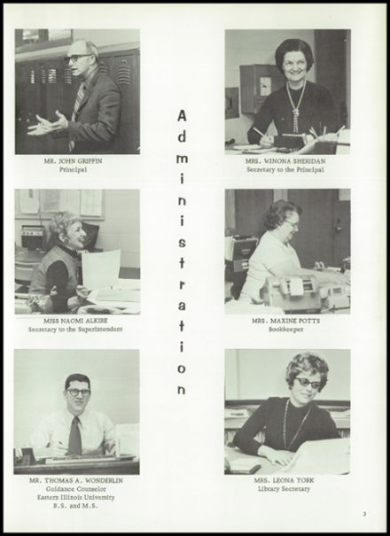 1973 Hoopeston Area High School Yearbook Page 7