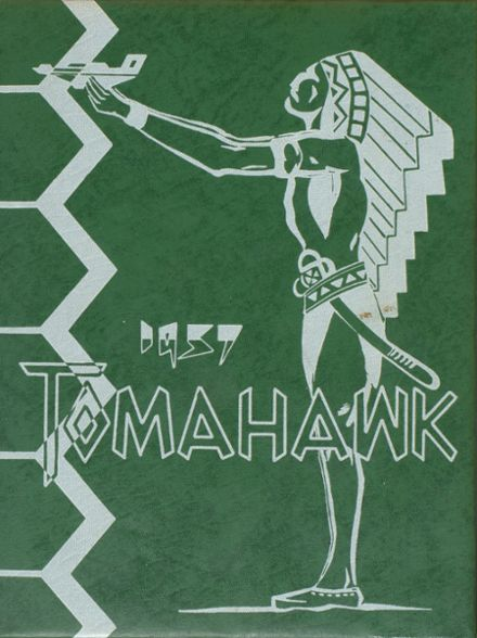 1957 Choctawhatchee High School Yearbook Cover