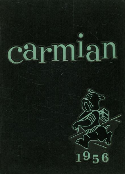 1956 Carmi-White County High School Yearbook Cover