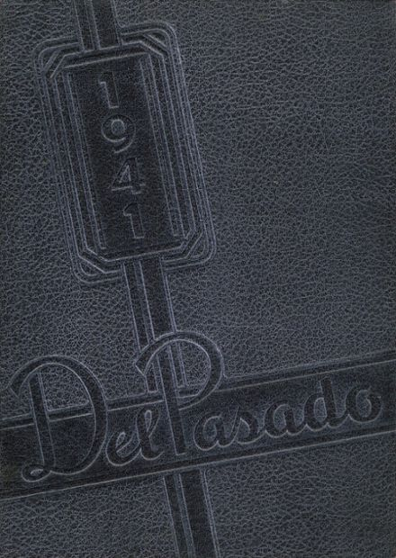1941 Grant Union High School Yearbook Cover