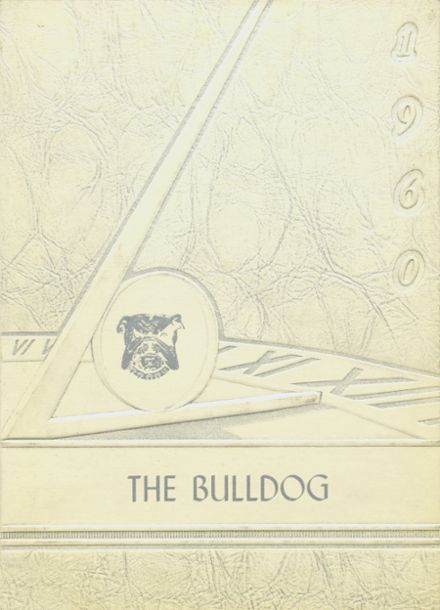 1960 Osceola High School Yearbook Cover