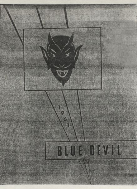 1961 Ringling High School Yearbook Cover