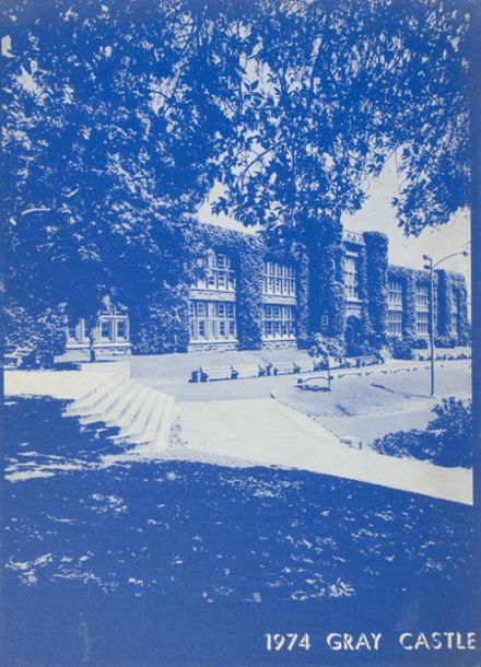1974 San Diego High School Yearbook Cover