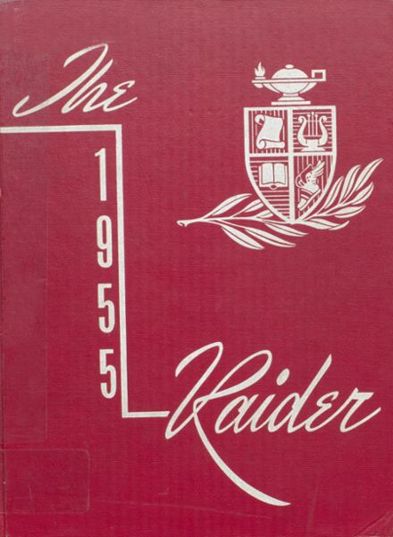 1955 Mead High School Yearbook Cover
