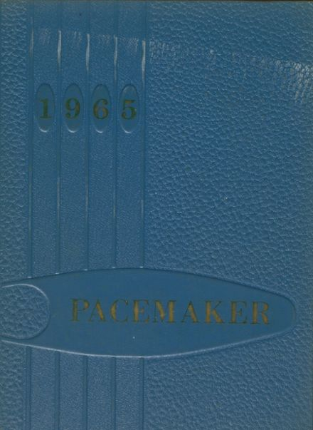 1965 Holy Name High School Yearbook Cover