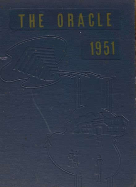 1951 Kingman High School Yearbook Cover