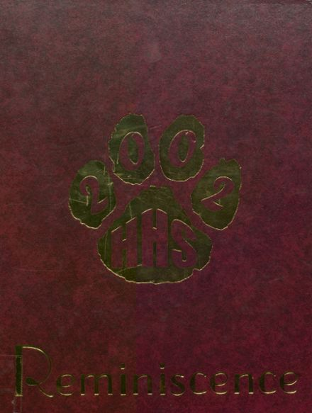 2002 Harrison High School Yearbook Cover