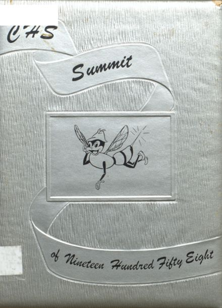 1958 Chester High School Yearbook Cover
