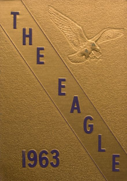 1963 Campbellsville High School Yearbook Cover